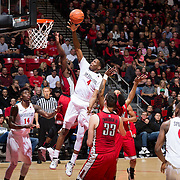 05 March 2016: The San Diego State Aztecs basketball team took on UNLV Rebels Saturday night  to wrap up the conference season. The Aztecs sent the seniors out with a ##-## win at Viejas Arena.