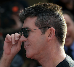 Britain's Got Talent. Simon Cowell arrives to Britain's Got Talent at Hammersmith Apollo. Hammersmith Apollo, London, United Kingdom. Thursday, 13th February 2014. Picture by Peter Kollanyi / i-Images