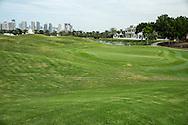 2nd green at The Address Montgomerie Golf Club, Dubai, United Arab Emirates.  27/01/2016. Picture: Golffile | David Lloyd<br /> <br /> All photos usage must carry mandatory copyright credit (© Golffile | David Lloyd)