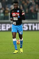 29.10.2016 - Torino - Serie A 2016/17 - 11a giornata  -  Juventus-Napoli  nella  foto: Amadou Diawara  - Napoli