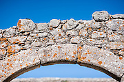 Medieval stone arch in Trujillo (Spain)