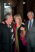 JOANNA LUMLEY; MARK SHAND; SIR EVELYN DE ROTHSCHILD, The launch party for Elephant Parade hosted at the house of  Jan Mol. Covent Garden. London. 23 June 2009.