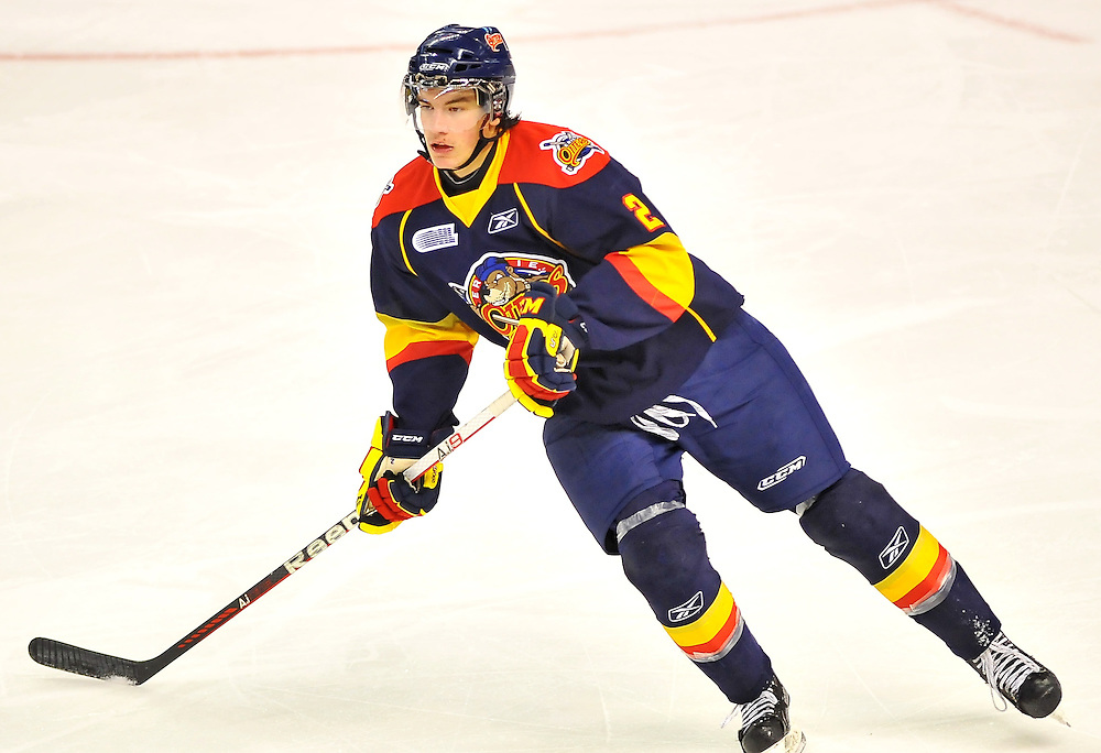 2011-12 Erie Otters.<br /> Photo by Terry Wilson / OHL Images.