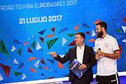 Alessandro Mamoli, Luigi Datome<br /> Raduno Nazionale Italiana Maschile Senior<br /> Media Day - Sky <br /> Milano, 21/07/2017<br /> Foto Ciamillo-Castoria/ M.Ceretti