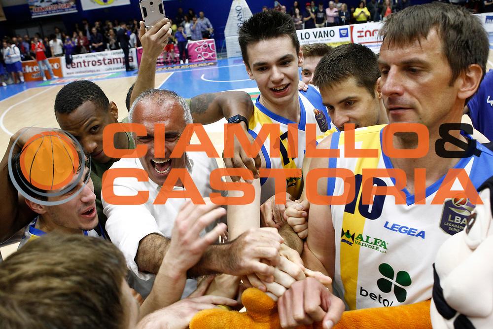 Enzo Sindoni Presidente<br />Betaland Capo D'Orlando - Consultinvest Pesaro<br />Lega Basket Serie A 2016/2017 <br />Capo D'Orlando 07/05/2017<br />Foto Ciamillo-Castoria