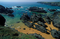 A beach at Belle-Ile-en-Mer, an Island off of Brittany, France - © Owen Franken
