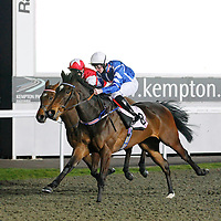 Storm and William Carson winning the 6.30 race