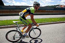 BITENC Jure of KK Sava during 1st Stage (164 km) at 19th Tour de Slovenie 2012, on June 14, 2012, in Celje, Slovenia. (Photo by Matic Klansek Velej / Sportida)
