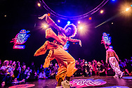 Mavinga perform at Red Bull Dance Your Style 2018 Brussels, at KVS in Brussels, Belgium on November 17, 2018.