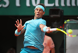 June 2, 2018 - Paris, France - Top-seeded RAFAEL NADAL of Spain plays against Richard Gasquet of France during their third-round match of the French Tennis Open 2018 at Roland Garros. Nadal won 6-3, 6-2, 6-2. (Credit Image: © Maya Vidon-White via ZUMA Wire)