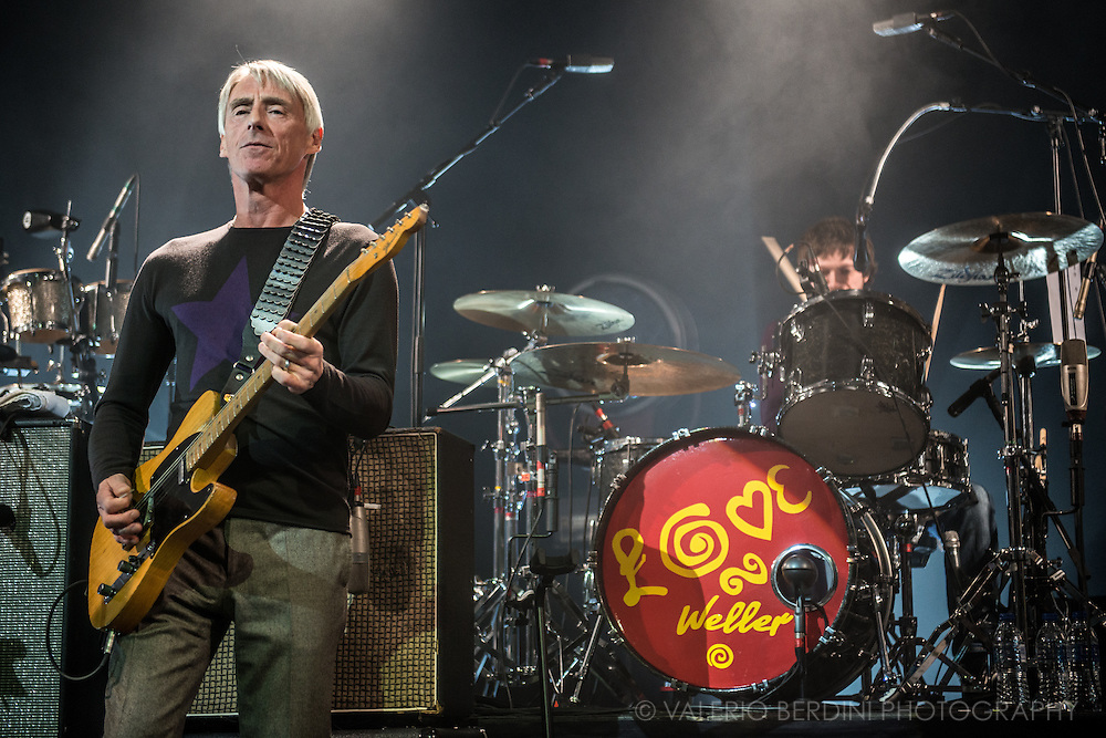Paul Weller live at the Cambridge Corn Exchange on 13 March 2015 presenting the new album Saturn Patterns