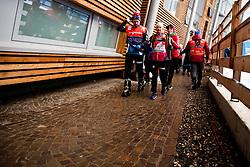 January 6, 2018 - Val Di Fiemme, ITALY - 180106 Sjur Ole Svarstad, coach, and Ingvild Flugstad ¯stberg of Norway after women's 10km mass start classic technique during Tour de Ski on January 6, 2018 in Val di Fiemme..Photo: Jon Olav Nesvold / BILDBYRN / kod JE / 160122 (Credit Image: © Jon Olav Nesvold/Bildbyran via ZUMA Wire)