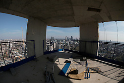 UK ENGLAND LONDON 20APR15 - View over the Penthouse suite on top of the Lexicon Building developed by Mount Anvil in London EC1.<br /> <br /> jre/Photo by Jiri Rezac<br /> <br /> &copy; Jiri Rezac 2015