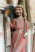 Skulptur am Heiliges Grab in der Mauritiusrotunde, Münster innen, Konstanz, Bodensee, Baden-Württemberg, Deutschland