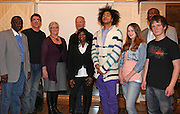 Anna Taylor Moslet and Steinar Moslet, founders of APAP International, a foundation against pedophilia and prostitution in Gambia. With some of the participants at a meeting in Selbu, Norway.