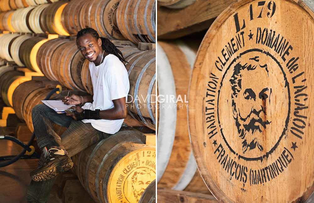 Editorial Travel Photography: Habitation Clément, Rum Distillery and touristic attraction, Le Francois, Martinique Island, Caribbean Sea, Lesser Antilles, France