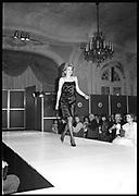 LUCY WIGGIN, Berkeley Dress Show in aid of the NSPCC. Savoy Hotel.. London. <br /> <br />  , -DO NOT ARCHIVE-© Copyright Photograph by Dafydd Jones. 248 Clapham Rd. London SW9 0PZ. Tel 0207 820 0771. www.dafjones.com.