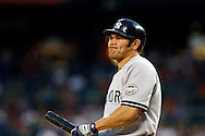 April 27, 2009:    #18 Johnny Damon of the NY Yankees in action during the MLB game between New York Yankees and Detroit Tigers at Comerica Park, Detroit, Michigan.  Tigers defeated the Yankees 4-2. (Credit Image: Rick Osentoski/Cal Sport Media)
