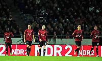 v.l. Didier Ya Konan (96), Emanuel Pogatetz, Jan Schlaudraff, Mohammed Abdellaoue, Christian Pander<br /> Europa League, Gruppenphase, Hannover 96 - FC København<br /> <br /> Norway only