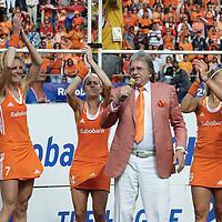 DEN HAAG - Rabobank Hockey World Cup<br /> 38 Final: Netherlands - Australia<br /> Netherlands world champion.<br /> Foto:<br /> COPYRIGHT FRANK UIJLENBROEK FFU PRESS AGENCY
