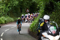 Brodie Chapman (AUS) at Stage 3 of 2019 OVO Women's Tour, a 145.1 km road race from Henley-on-Thames to Blenheim Palace, United Kingdom on June 12, 2019. Photo by Sean Robinson/velofocus.com