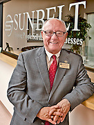 Photo by Bob Coleman<br /> <br /> Carl Grimes, Broker/Owner of CBI Sunbelt, talks about how trillions of dollars worth of small businesses are going to change hands in the coming years, as Baby Boomers who own small businesses look to sell, shift ownership, etc. in advance of retirement.