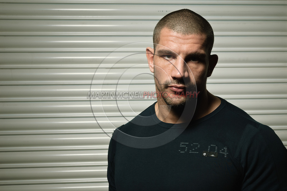 "A portrait of mixed martial arts athlete James ""Colossus"" Thompson"