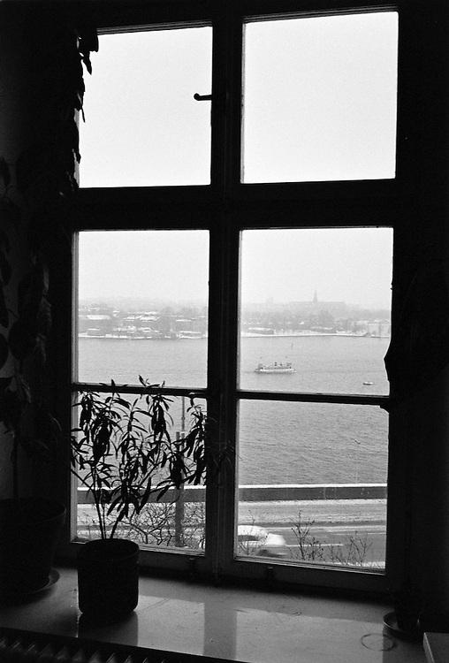 Fönster mot Strömmen