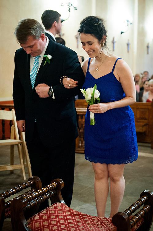 20120311Saturday170902.Shelley Myers and Charles Watson wedding Saturday, March 10, 2012 in San Antonio..Mission Concepcion, Westin Riverwalk.Saturday3/10/12.Photo © Bahram Mark Sobhani