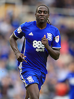 Birmingham City's Clayton Donaldson celebrates after he scores his sides third goal.