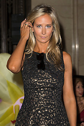 © Licensed to London News Pictures. 17/09/2016.  LADY VICTORIA HERVEY attends the ASHLEY ISHAM Spring/Summer 2017 show. Models, buyers, celebrities and the stylish descend upon London Fashion Week for the Spring/Summer 2017 clothes collection shows. London, UK. Photo credit: Ray Tang/LNP
