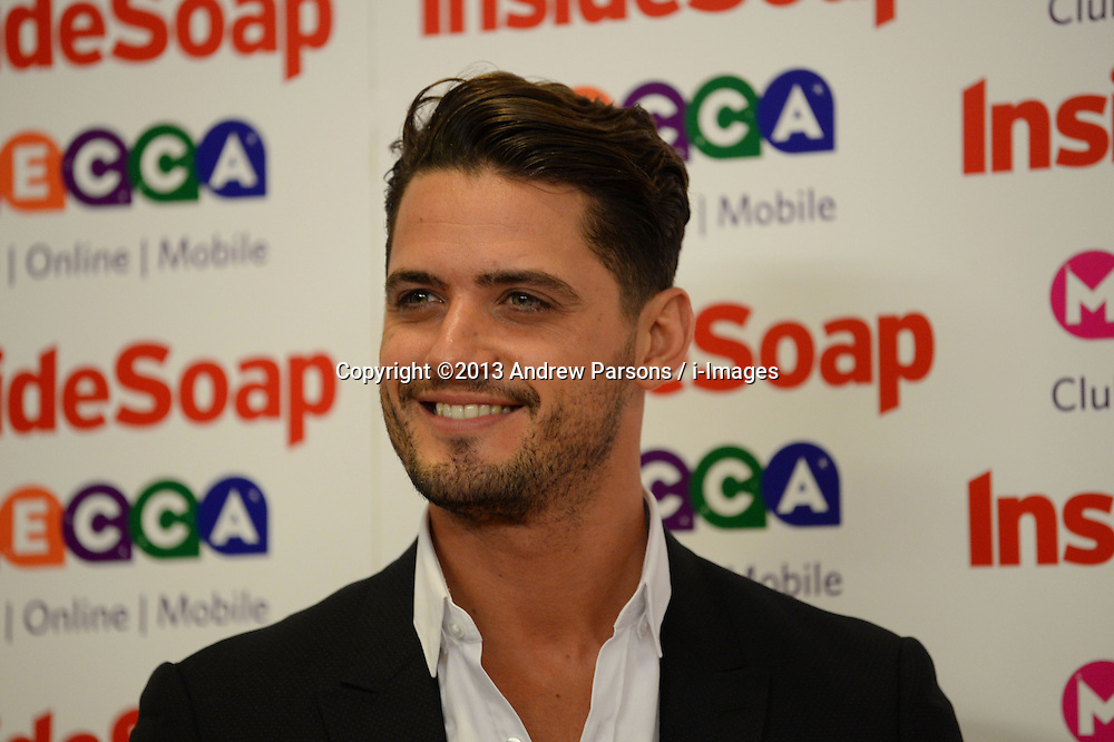 Inside Soap Awards.<br /> Fabrizio Santino arrives for the Inside Soap Awards, Ministry of Sound, London, United Kingdom,<br /> Monday, 21st October 2013. Picture by Andrew Parsons / i-Images