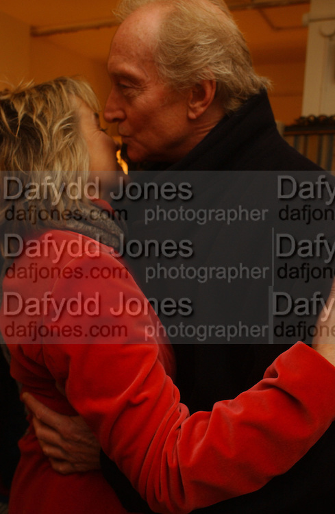 Sinead Cusack and Charles Dance, Opening night of Embers, Duke of York's theatre. St. Martin's Lane. London. 1 March 2006. ONE TIME USE ONLY - DO NOT ARCHIVE  © Copyright Photograph by Dafydd Jones 66 Stockwell Park Rd. London SW9 0DA Tel 020 7733 0108 www.dafjones.com