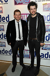 Greg McHugh & Jack Whitehall attends the Loaded LAFTAS 2012 held at the Cuckoo Club, London, Wednesday February 8, 2012. Photo By i-Images