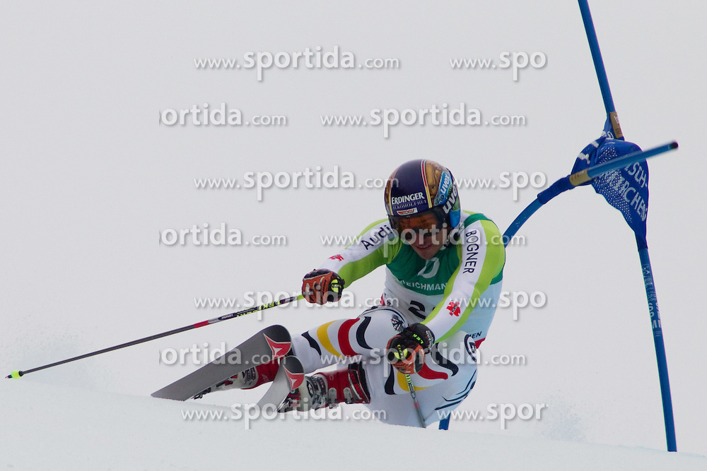 18.02.2011, Kandahar, Garmisch Partenkirchen, GER, FIS Alpin Ski WM 2011, GAP, Herren, Riesenslalom, im Bild Felix Neureuther (GER) // Felix Neureuther (GER) during men's Giant Slalom Fis Alpine Ski World Championships in Garmisch Partenkirchen, Germany on 18/2/2011. EXPA Pictures © 2011, PhotoCredit: EXPA/ M. Gunn