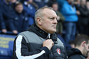 Rotherham United Manager Neil Redfearn during the Sky Bet Championship match between Preston North End and Rotherham United at Deepdale, Preston, England on 2 January 2016. Photo by Pete Burns.