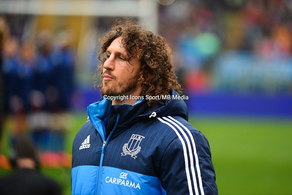 Mauro BERGAMASCO - 15.03.2015 - Rugby - Italie / France - Tournoi des VI Nations -Rome<br /> Photo : David Winter / Icon Sport