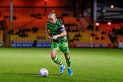 Forest Green Rovers Joseph Mills(23) in action  during the EFL Sky Bet League 2 match between Port Vale and Forest Green Rovers at Vale Park, Burslem, England on 20 August 2019.