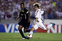20091202: RIO DE JANEIRO, BRAZIL - South-American Cup 2009, Final: Fluminense vs LDU Quito. In picture: Diguinho (Fluminense) scoring goal. PHOTO: CITYFILES