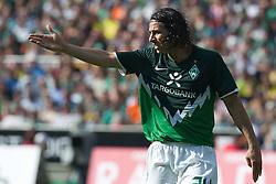 07.05.2011, Weserstadion, Bremen, GER, 1.FBL, Werder Bremen vs Borussia Dortmund, im Bild  Claudio Pizarro ( Werder #24 )   EXPA Pictures © 2011, PhotoCredit: EXPA/ nph/  Kokenge       ****** out of GER / SWE / CRO  / BEL ******