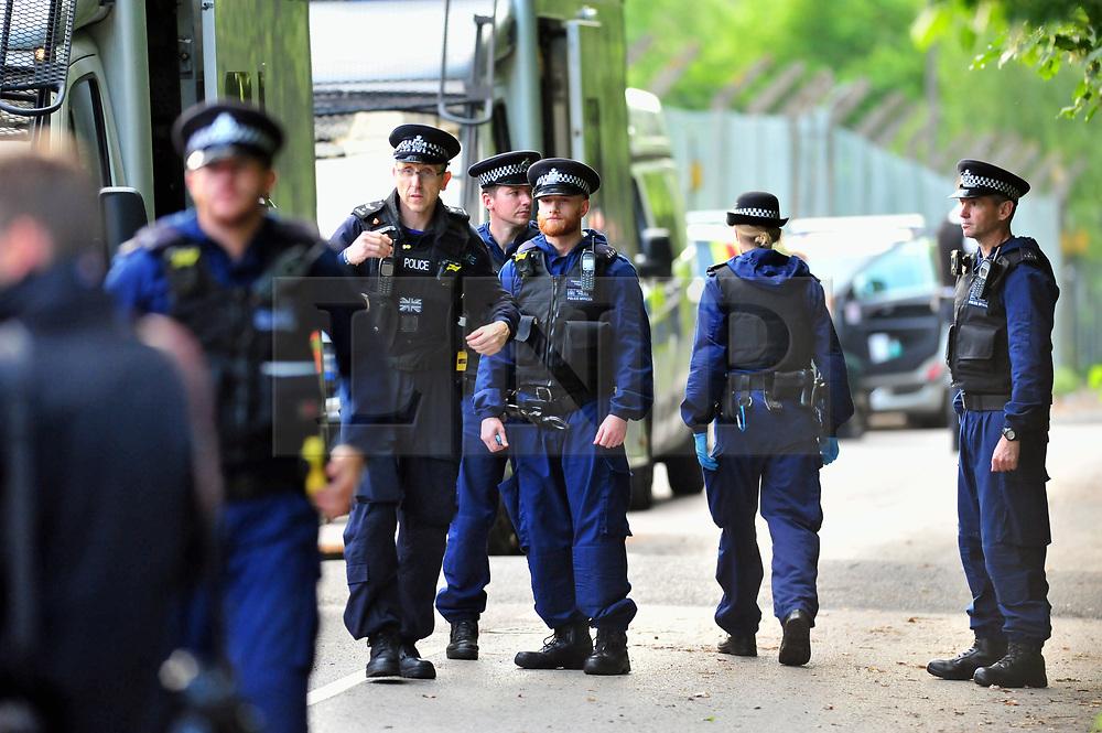 © Licensed to London News Pictures. 30/05/2017. <br /> Chislhurst, UK. <br /> Police hunt for gunman. reports of a gunman near Darul Uloom school, Foxbury Avenue, Chislehurst.<br />   Photo credit: Grant Falvey/LNP