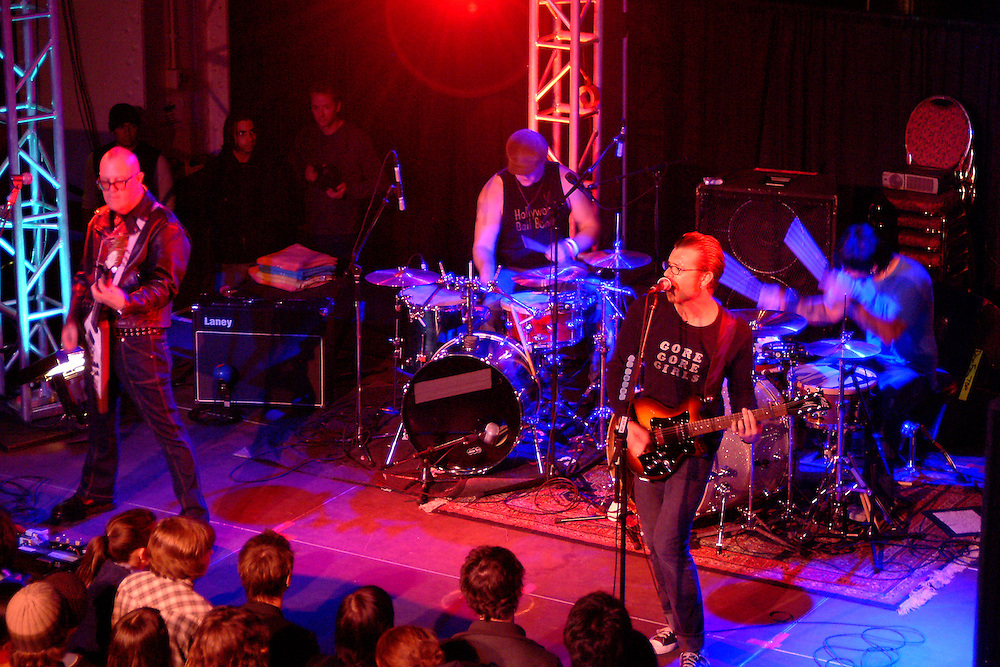 Eagles of Death Metal at All Tomorrow's Parties at the Queen Mary in Long Beach, CA 11/07/2004. ..