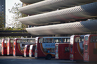 Preston Bus Station, Lancashire, UK. Opened in 1969