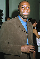 TONY JARRATT the leading British 110m hurdler at a party in London on 10th September 1997.MBB 23