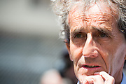 May 25-29, 2016: Monaco Grand Prix. Alain Prost, F1 world champion