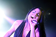 Evanescence on the Carnival of Madness Tour at the Lifestyles Community Pavilion in Columbus, OH on August 1, 2012