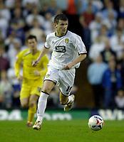 Photo: Jed Wee.<br /> Leeds United v Preston North End. Coca Cola Championship. Play-off, First Leg. 05/05/2006. <br /> <br /> Leeds' Eirik Bakke attacks.