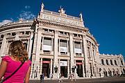 Burgtheater, Ringstraße, Wien, Österreich .|.Burgtheater, Ringroad, Vienna, Austria..