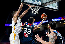 Axel Toupane of France during basketball match between National Teams of Germany and France at Day 10 in Round of 16 of the FIBA EuroBasket 2017 at Sinan Erdem Dome in Istanbul, Turkey on September 9, 2017. Photo by Vid Ponikvar / Sportida