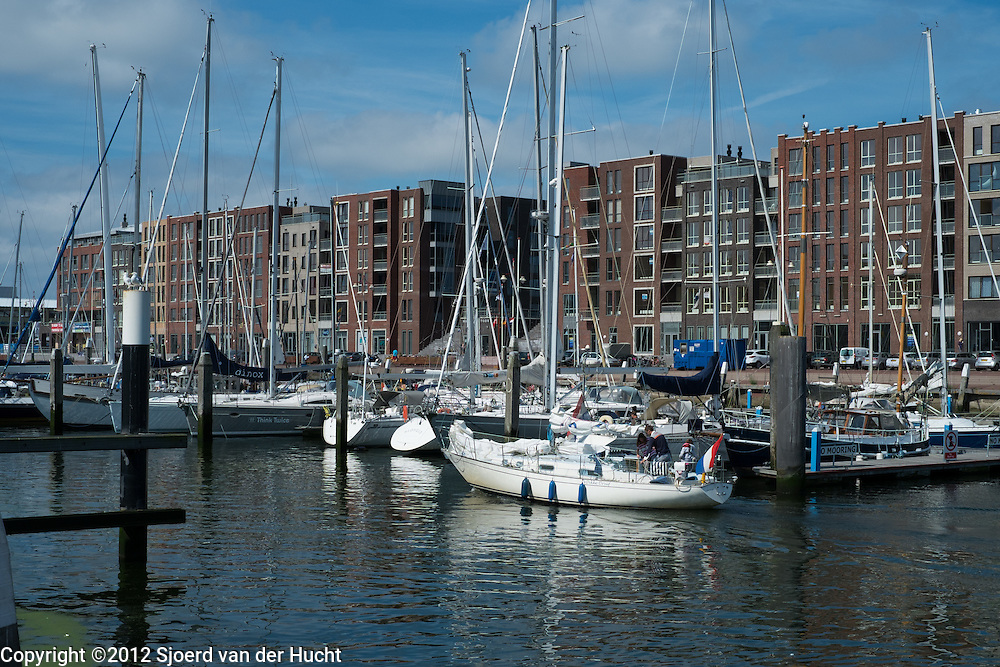 Haven in Scheveningen, Den Haag - Harbour of Scheveningen, The Hague, Netherlands